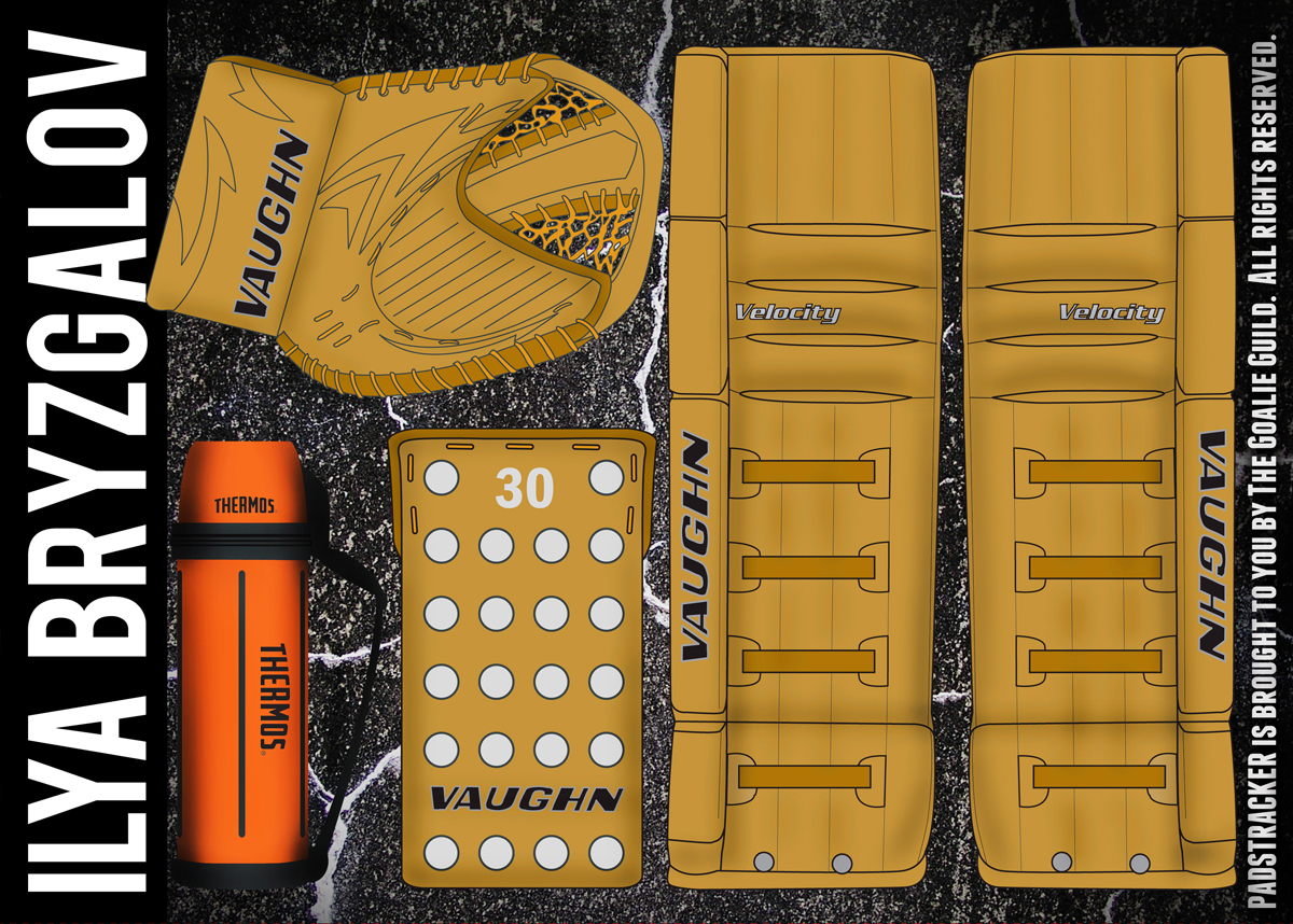 Vaughn Vintage Goalie Pads – images free download